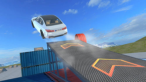 Car simulator M5 for Android