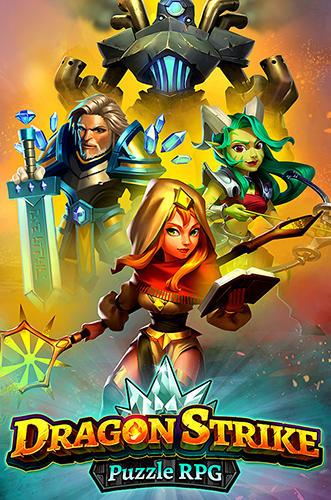 Dragon strike: Puzzle RPG captura de pantalla 1