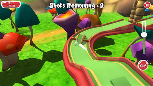 3D mini golf adventure pour Android