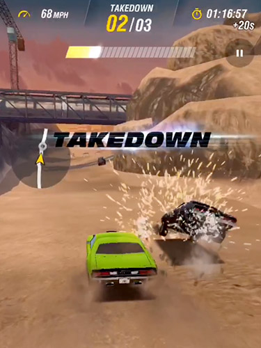 Fast and furious takedown captura de tela 1
