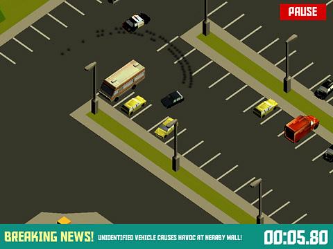 Screenshot Pako: Verfolgungsjagdsimulator auf dem iPhone