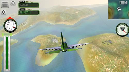 Boeing airplane simulator capture d'écran