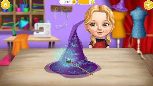 Capture d'écran Une fille mignonne: Divertissement de Halloween sur iPhone
