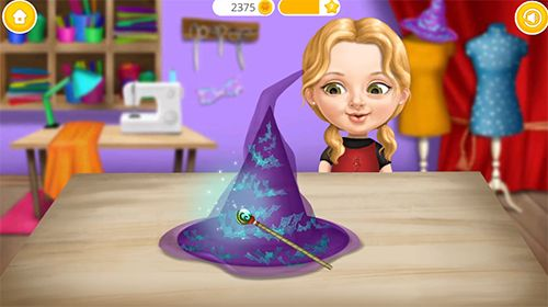 截图Sweet baby girl: Halloween fun在iPhone