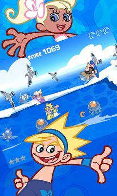 Arcade-Spiele Party Wave für das Smartphone