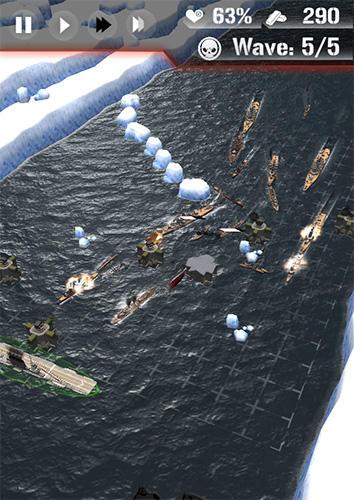 Dawn uprising: Battle ship defense auf Deutsch