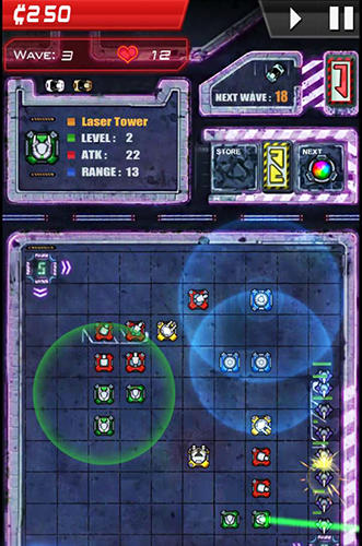 Infinity defense für Android