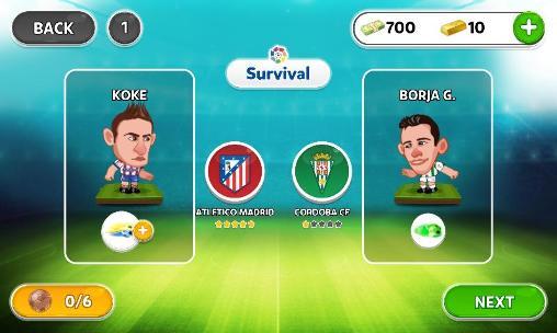 Head soccer: La liga für Android