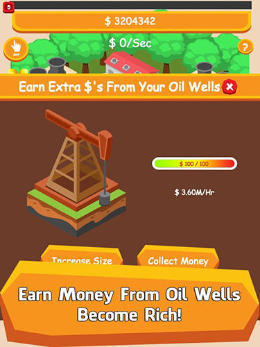 Oil tycoon: Idle clicker game für Android