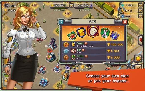 Juegos en línea Iron desert para teléfono inteligente