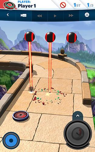 Arcade Disc drivin' 2 für das Smartphone