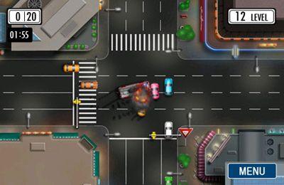 Screenshot Vorfahrt gewähren auf dem iPhone