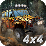 UAZ 4x4 offroad rally icon