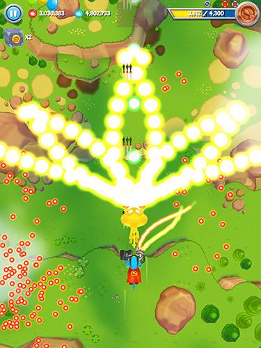 Аркады игры: скачать Bloons supermonkey 2 на телефон