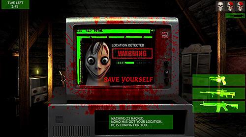 Momo game: Kill the Momo Screenshot