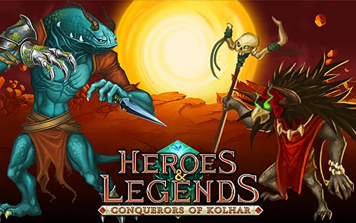 logo Heroes & legends: Conquerors of Kolhar