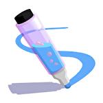 Pen run icon