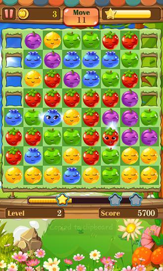 Fruit splash: Funny jelly storm скриншот 1