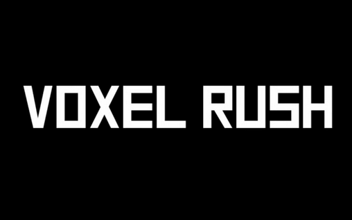 Voxel rush: 3D racer Symbol