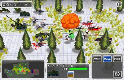 Doodle Guerres 2: Counter Strike pour iPhone gratuitement