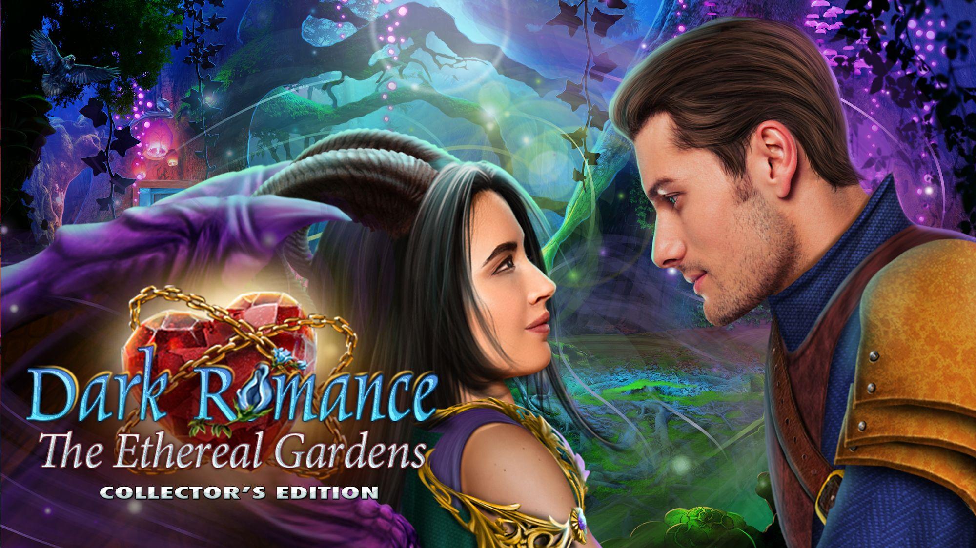 Hidden Object - Dark Romance: Ethereal Gardens captura de pantalla 1