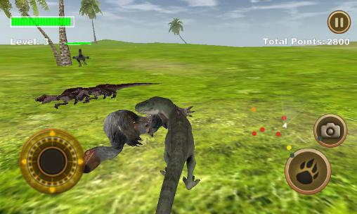 T-Rex survival simulator für Android