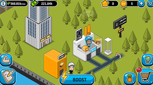 Idle Industriewelt für iPhone