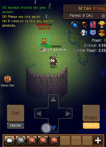 RPG-Spiele: Lade Grow Stone Online: Idle RPG auf dein Handy herunter