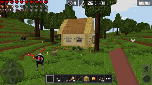 Multiplayerspiele: Lade Weltcraft auf dein Handy herunter