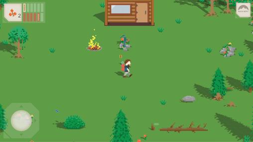 Arcade On my own: Woodland survival adventure für das Smartphone