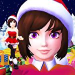 Santa girl run: Xmas and adventures icon