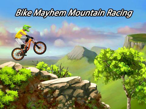 logo Bike mayhem mountain racing