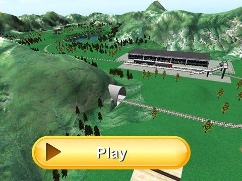 Simulator-Spiele: Lade Zugfahrt 3D auf dein Handy herunter