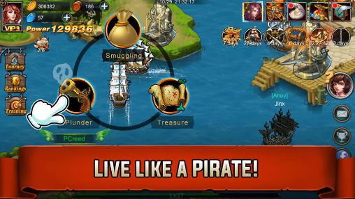Treasure map for Android