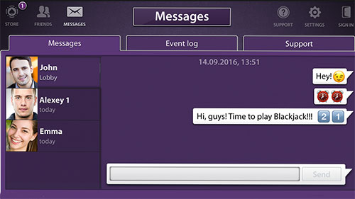 Viber: Blackjack скриншот 2
