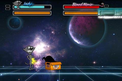 Screenshot Street Cat Fighter auf dem iPhone