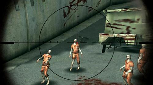Zombie Shooter Zombie sniper 3D shooting game: The killer auf Deutsch