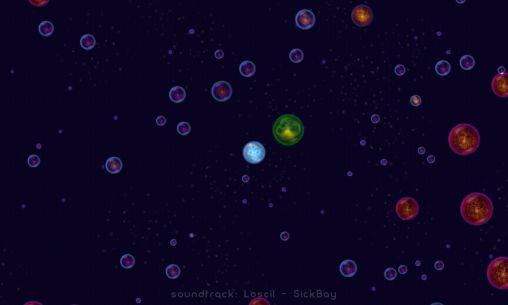 игры про Космос Osmos HD на русском языке