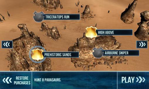 Simulator-Spiele Dino gunship: Airborne hunter für das Smartphone