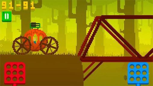 Arcade-Spiele Wild roads für das Smartphone