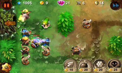 Goblin Defenders Steel'n'Wood für Android
