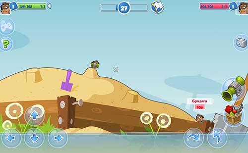 Wormix screenshot 2