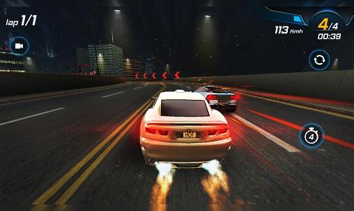 Car racing 3D: High on fuel captura de pantalla 1
