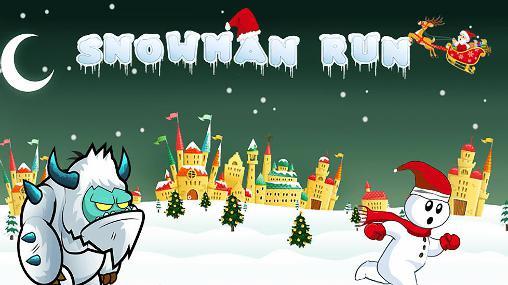 Snowman run screenshot 1