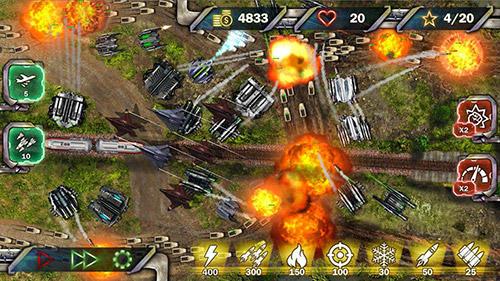 Tower defense: Next war für Android