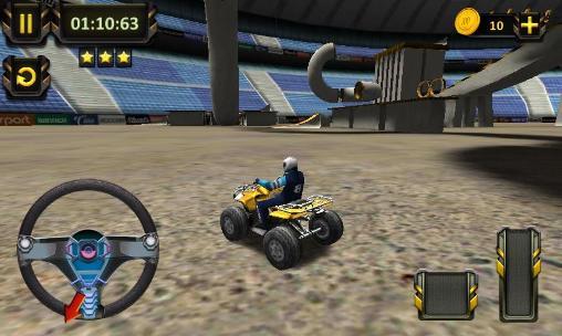ATV racing: 3D arena stunts screenshot 1