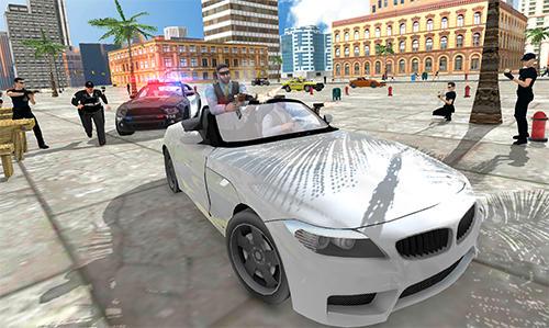 kriminellen Spiele Gangster crime car simulator auf Deutsch