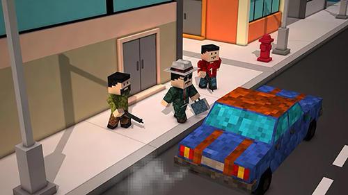 Pixelspiele Blocky city sniper 3D auf Deutsch