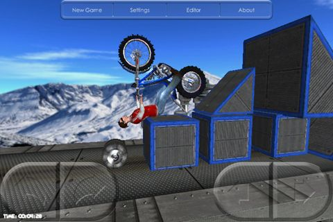 Screenshot Motorbike on iPhone