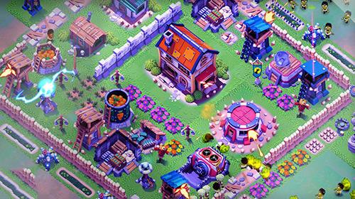 Survival city: Zombie base build and defend auf Deutsch